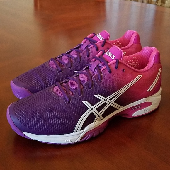 12b7d66a Asics Gel-Solution Speed 2 Tennis Shoe E450J-3735